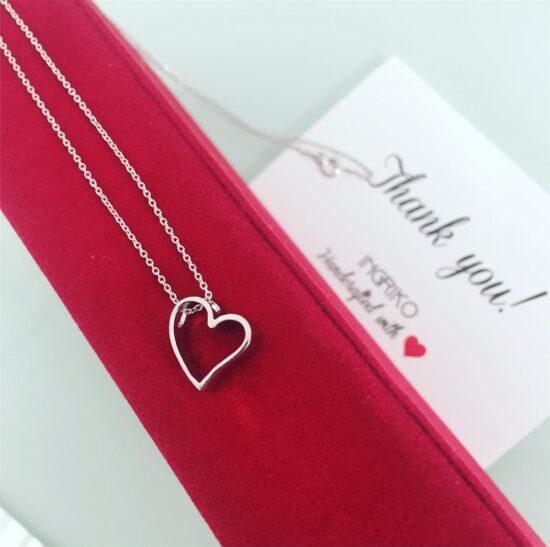 Colier Inima, din Argint