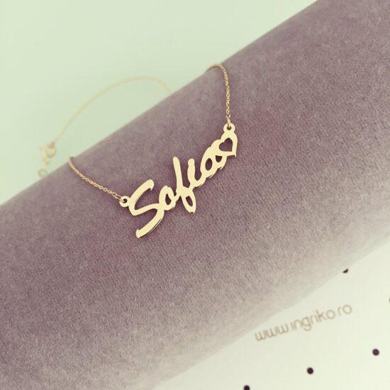 Colier nume Sofia