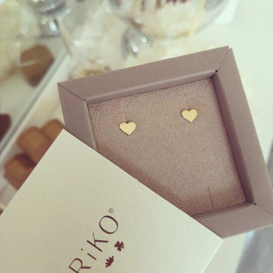 Cercei Inimi aur1