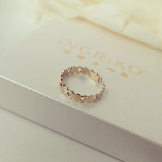 Inel aur degetul mare