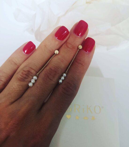 Cercei perle 4